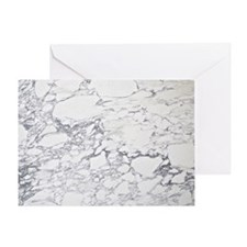 marble calendar Greeting Card