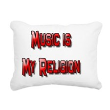Musical Religion Rectangular Canvas Pillow