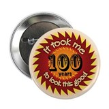 100 years Button