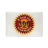 100 years Rectangle Magnet