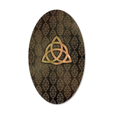 Triquetra - iPhone4 Slider a 35x21 Oval Wall Decal