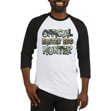 Camo Easter Egg Hunter Baseball Jersey