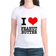 I Heart (Love) Peanut Butter T