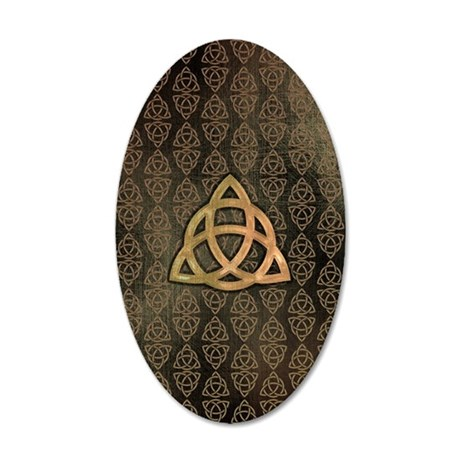 Triquetra - Galaxy Note 2 Ca 35x21 Oval Wall Decal