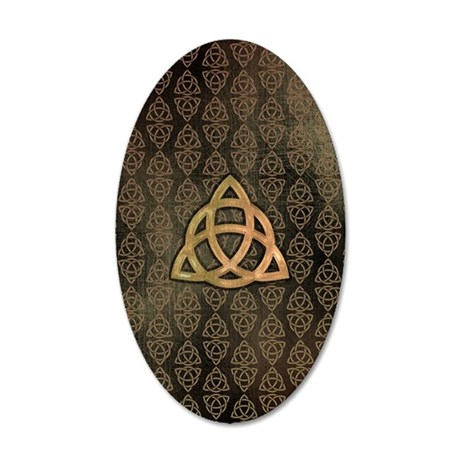 Triquetra - iTouch4 and Gala 35x21 Oval Wall Decal