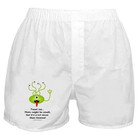Alien from Pluto Boxer Shorts