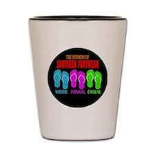 Southern Footwear Flip Flop Shot Glass