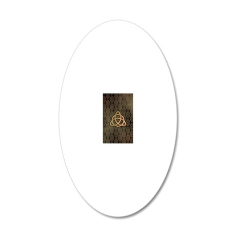 Triquetra - Incredible 2 20x12 Oval Wall Decal