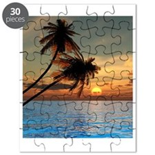 Beach Sunset Puzzle
