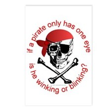 Pirate Humor Postcards (Package of 8)