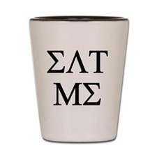 Eat Me - Sorority Fraternity Greek Lett Shot Glass
