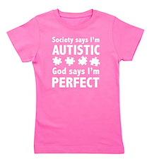 autismGodPerf1E Girl's Tee