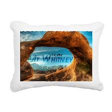 Mobius Arch Rectangular Canvas Pillow