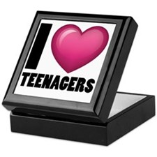 I Heart Teenagers Keepsake Box