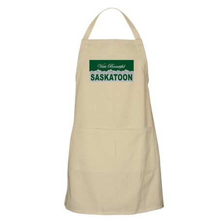 Visit Beautiful Saskatoon, Sa BBQ Apron