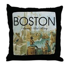 boston2b Throw Pillow