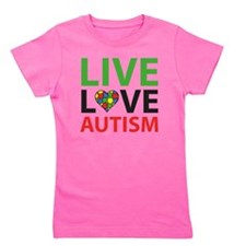 liveLoveAutism2D Girl's Tee