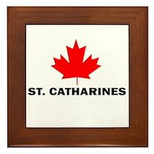St. Catharines, Ontario Framed Tile