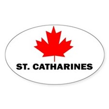 St. Catharines, Ontario Oval Bumper Stickers