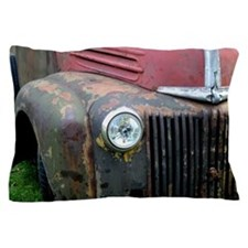 Rusty car Pillow Case