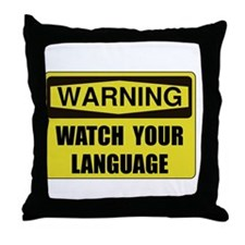 English Teacher Throw Pillow