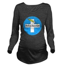 medical assistant 5 Long Sleeve Maternity T-Shirt