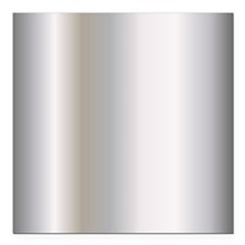 "Metallic Silver Square Car Magnet 3"" x 3"""