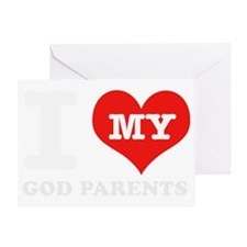 Designs for Godparents Greeting Card