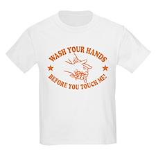 Wash Your Hands! Orange T-Shirt