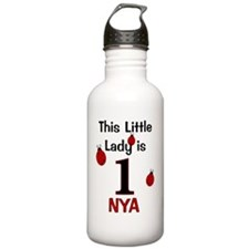 This Little Lady is 1  Water Bottle
