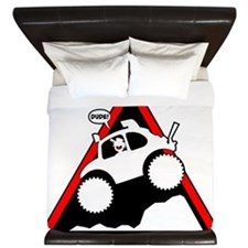 BAJA BUG JUMPING Danger King Duvet