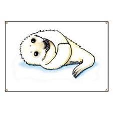 KiniArt Seal Pup Banner