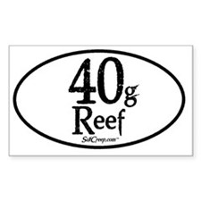 40g Reef Decal