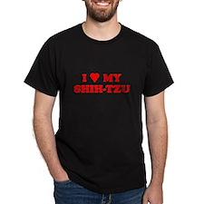 SHIH-TZU T-SHIRT SHIH TZU SHI T-Shirt