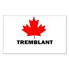 Tremblant, Quebec Rectangle Decal