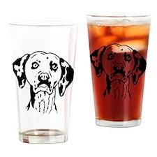 Dalmation Drinking Glass