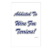 Wire Fox Addicted Postcards (Package of 8)