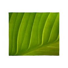 leaf f t w Throw Blanket