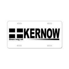 Funny Cornish Aluminum License Plate