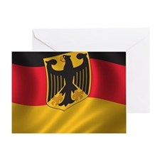 Flag of Germany Greeting Card