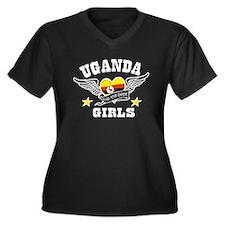 Ugandan girls are the best Women's Plus Size V-Nec