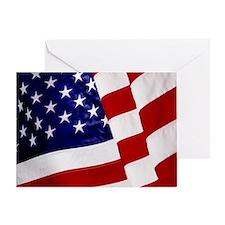 U.S. Flag ft mk Greeting Card