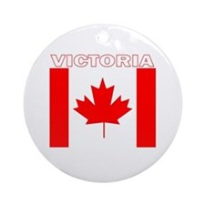 Victoria, British Columbia Ornament (Round)