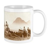 Blackfoot Indians Old Wild West Coffee Mug