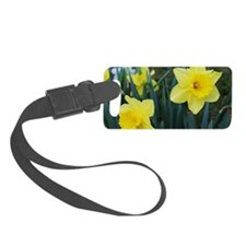 Yellow Daffodils Luggage Tag