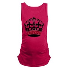 EMPRESS Red Maternity Tank Top