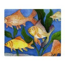 Fun Fish Throw Blanket