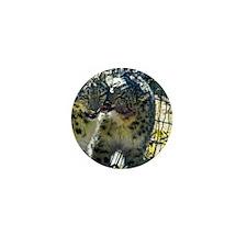 Snow Leopards Mini Button
