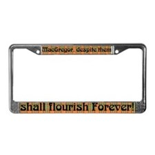 Unique Clan License Plate Frame