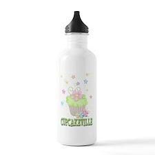 Cupcakeville Water Bottle